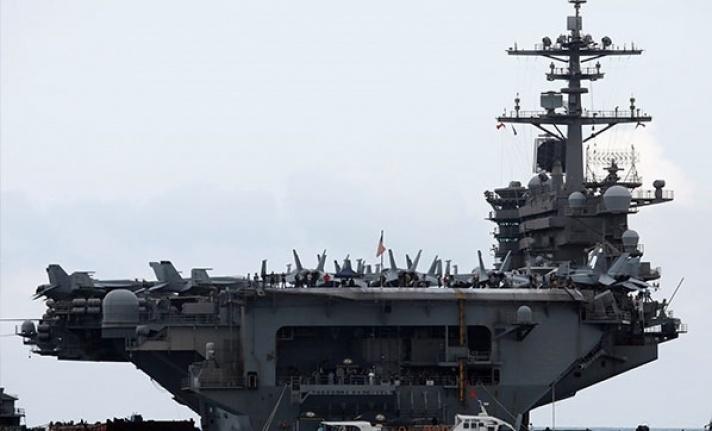 ABD uçak gemilerinin sayısı 3'e çıktı
