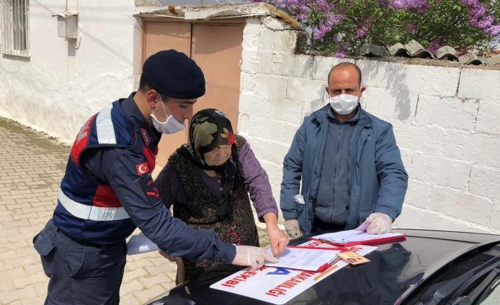 EİKP Destek Programı Kapsamında Yapılan 1.000 TL'lik Yardımlar Evlere Dağıtılmaya Devam Ediyor