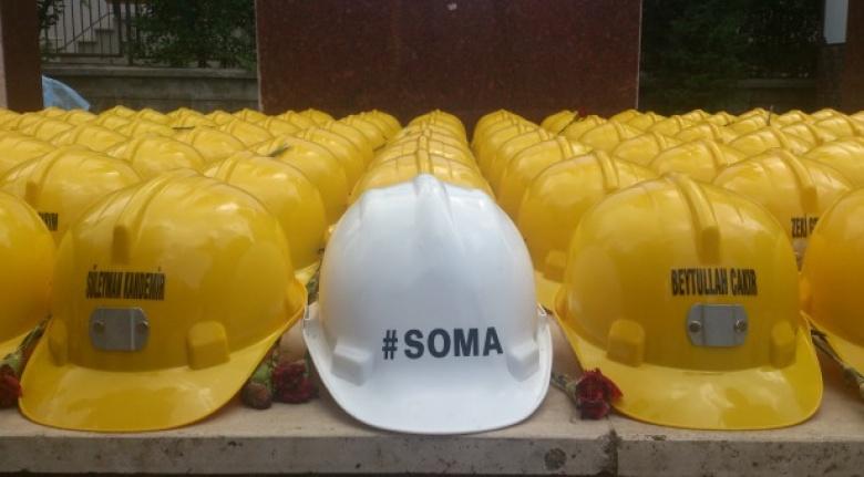 Soma İlçesinde Bir Maden Ocağında Göçük Meydana Geldi