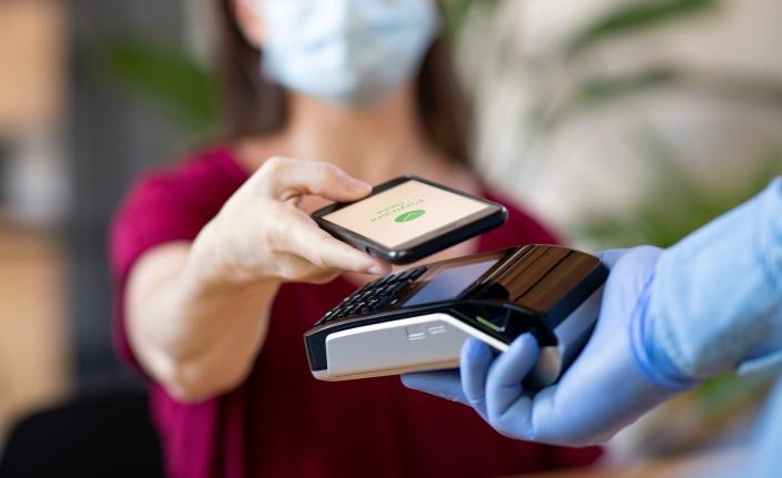Koronavirüs etkisiyle temassız ödeme 3 kat arttı