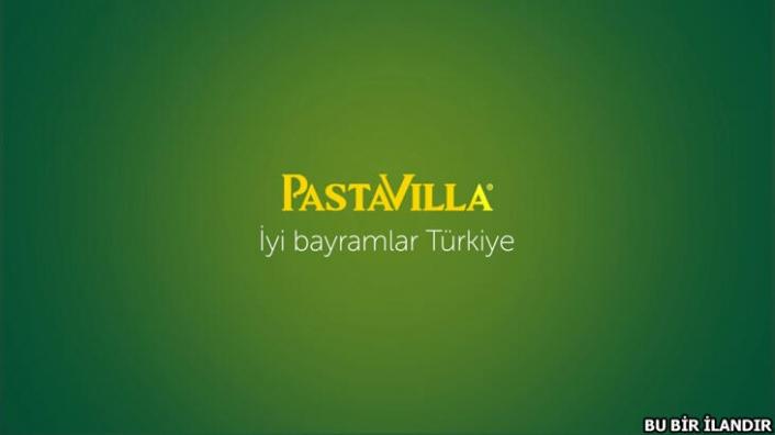 Pastavilla'dan en içten bayram kutlaması: İlk kez bir marka reklamla rakiplerinin bayramını kutladı