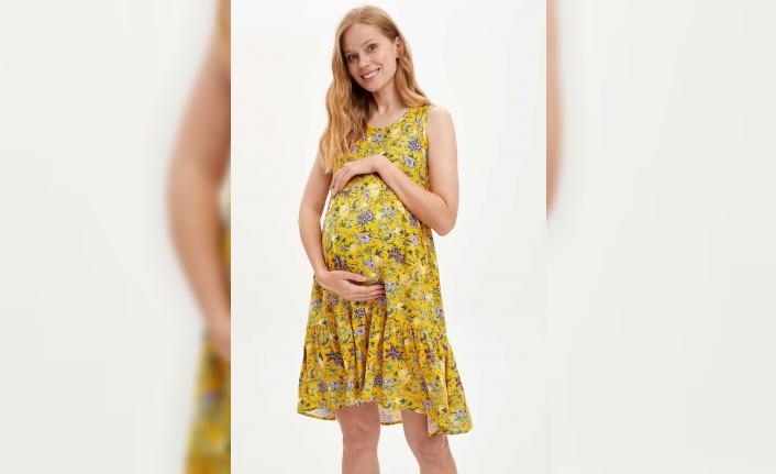 Yaza özel hamile koleksiyonu hazırlandı