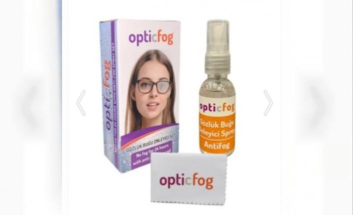 OpticFog Buğu Önleyici Antifog Sprey Set