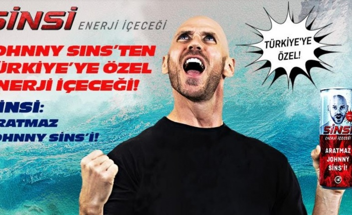 Johnny Sins, Türkiye pazarına Sinsi Enerji içeceği ile girdi!