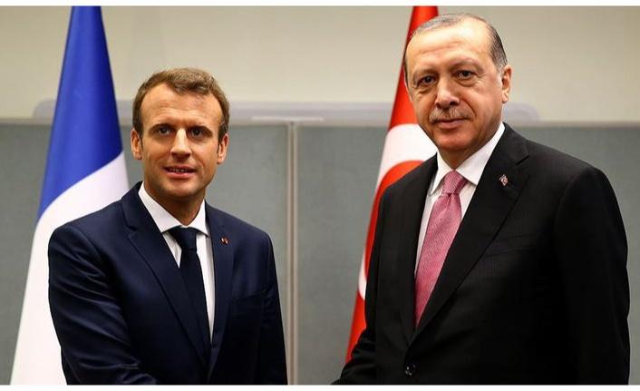 Cumhurbaşkanı Erdoğan ile Macron görüşecek
