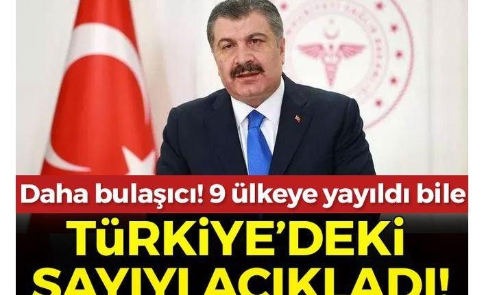 Son dakika: Delta varyantı Türkiye'de kaç kişide görüldü? Sağlık Bakanı Fahrettin Koca açıkladı