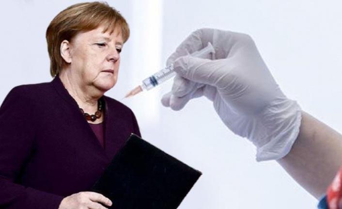 Merkel'den 'zorunlu aşı' açıklaması