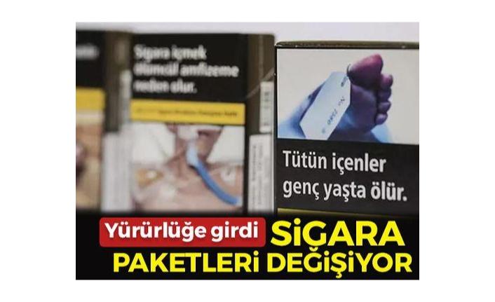 Sigara paketleri değişiyor! Resmi Gazete'de yer aldı