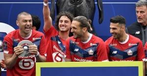 Lille, şampiyonluk kupasını aldı