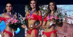 Güzellik yarışmasında corona skandalı…...