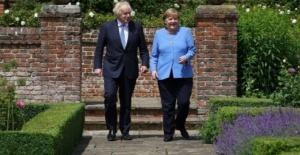 Merkelden İngiltereye 'veda...