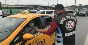 Polislerden taksicilere ceza yağdı