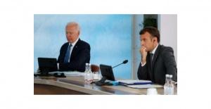 Biden ile Macron arasında kritik görüşme
